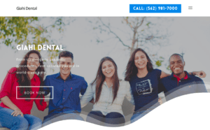 The perfect website for dentists. We build WordPress websites for dentists.