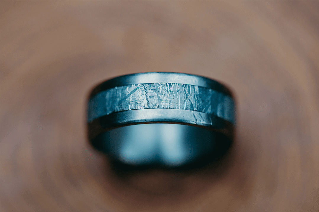 Custom and handmade carbon fiber rings by Patrick Adair Designs