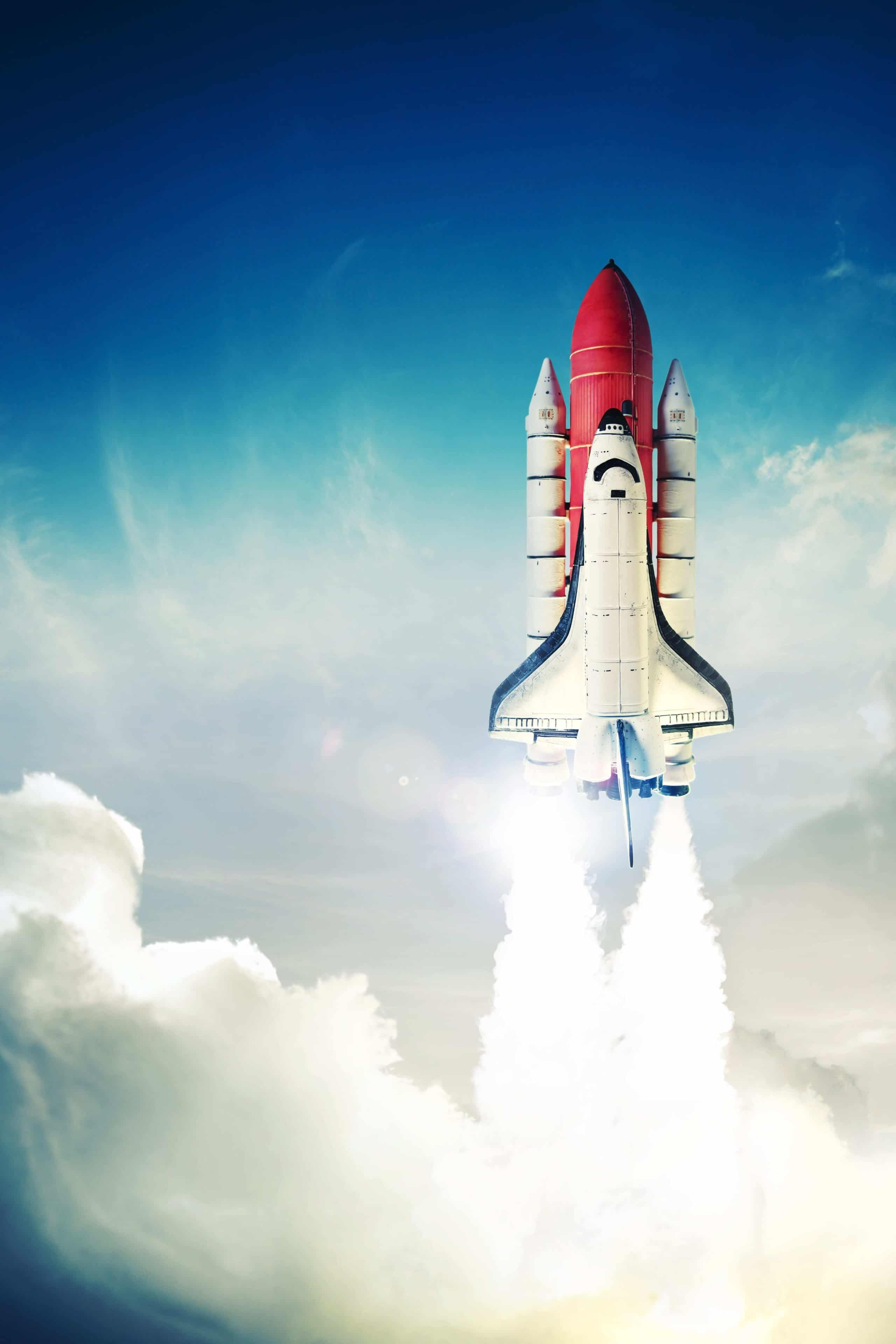 Take your sales and lead generation to new heights like a rocket blasting off