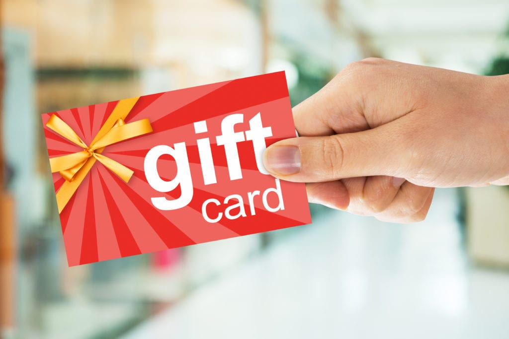 There are billions of lost dollars from lost gift cards