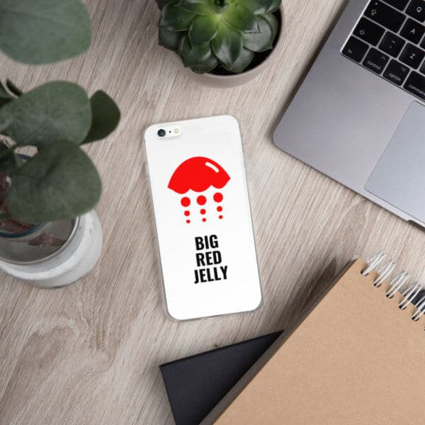 Big Red Jelly Iphone Case